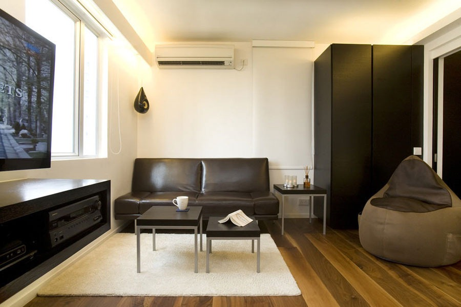 Chic and small apartment interior design in hong kong for Interior design agency hong kong