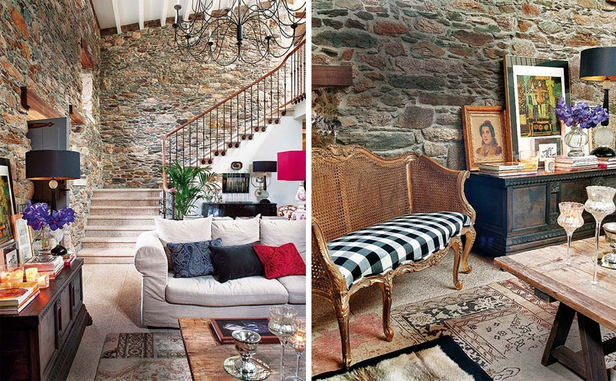 Charming Old House Renovation By Keeping The Stone