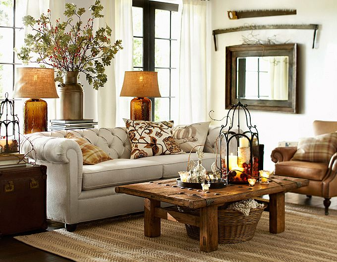 28 Elegant And Cozy Interior Designs By Pottery Barn