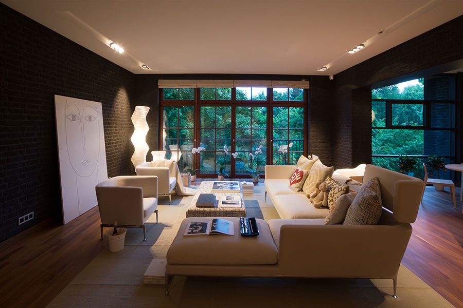 brick-wall-living-room-design