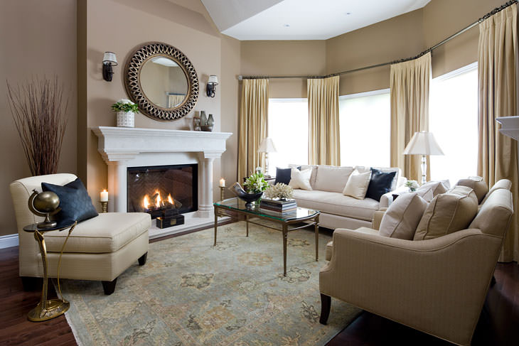 30 elegant american style living room designs from jane - Contemporary formal living room ideas ...