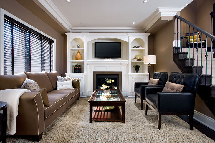 chocolate_living_room brown_living_room living_room_by_jane_lockhart - American Living Room Design