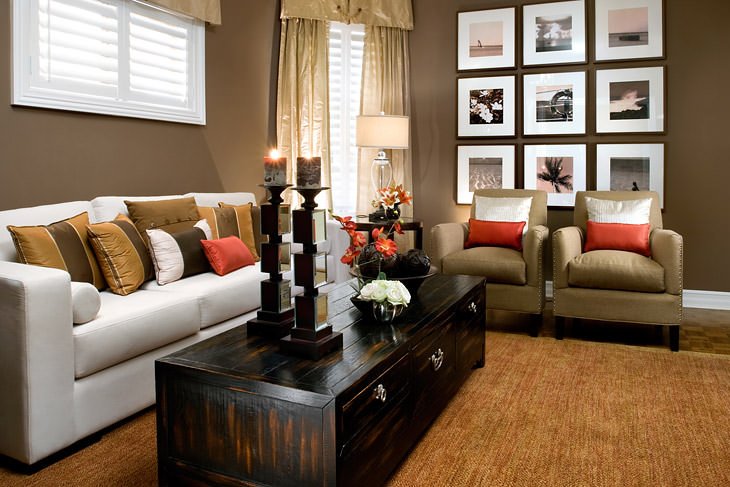 30 Elegant American Style Living Room Designs from Jane Lockhart