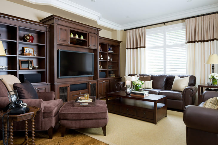 30 elegant american style living room designs from jane for American house interior design