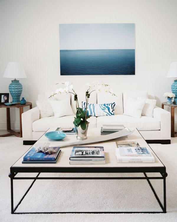 white_coffee_table_decorations