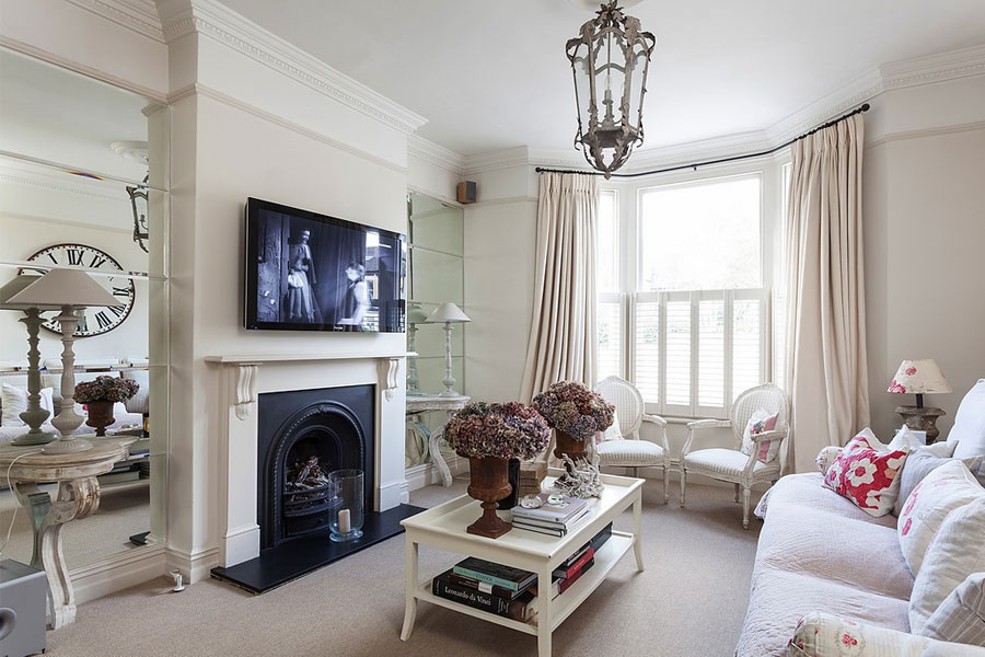 gentle elegant and cozy classic style home in london