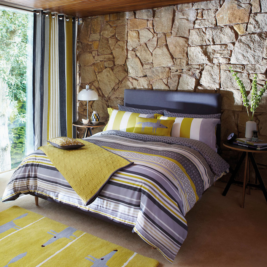yellow_textured_bedroom_design