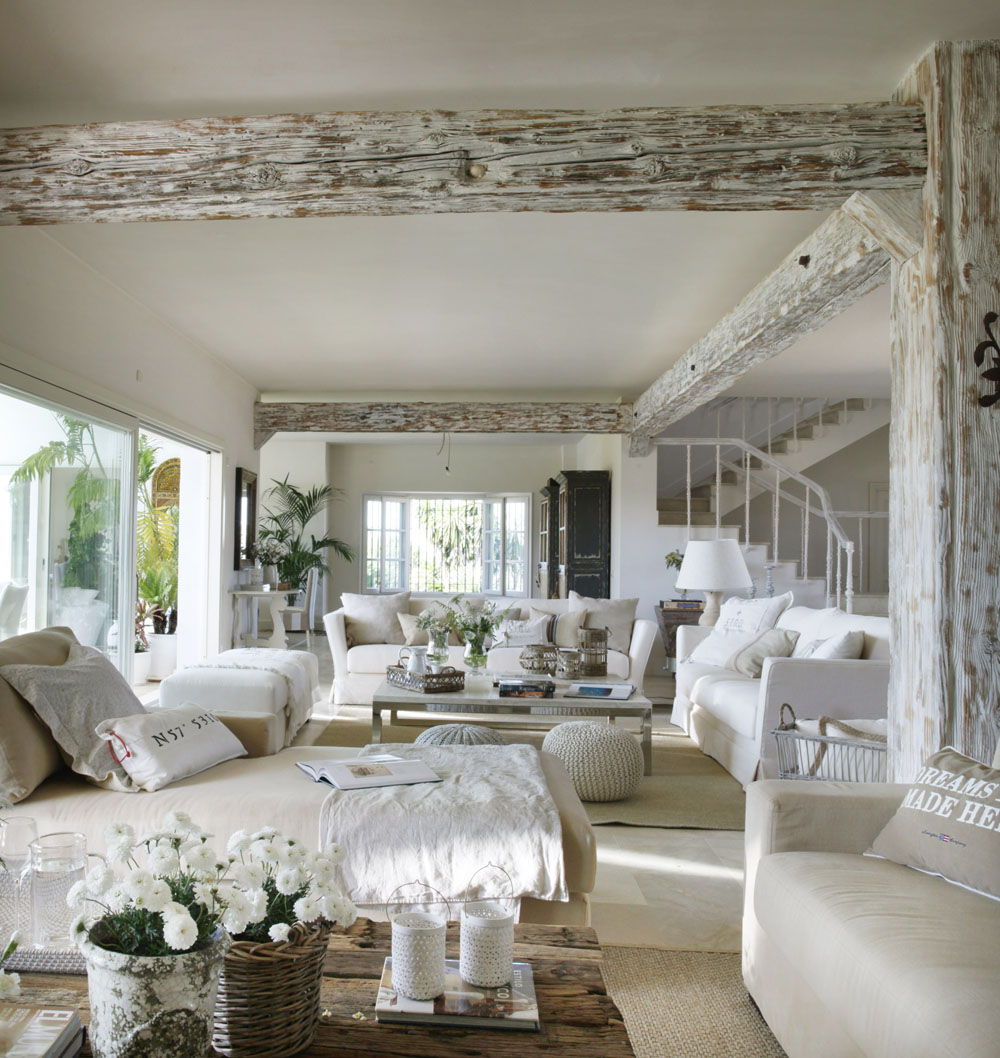 Classic Style Interior Design In White And Beige 4betterhome