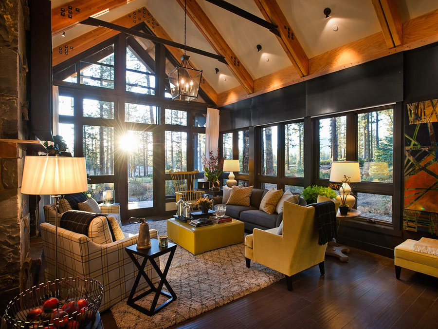 hgtv 2014 mountain home living room