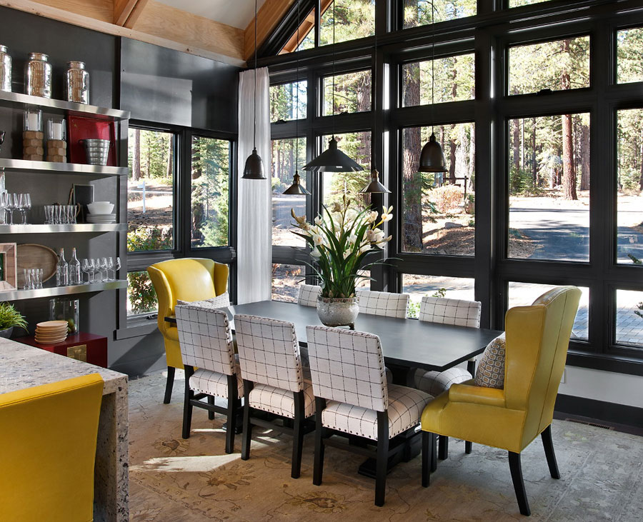 hgtv 2014 mountain house dining room design