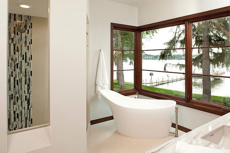 luxury bathroom design of house
