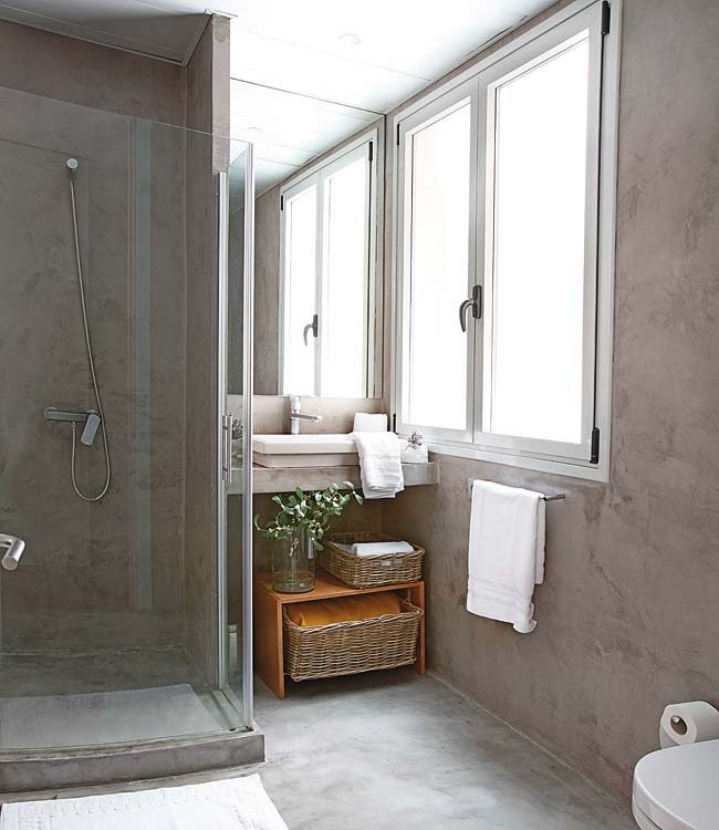 moder apartment bathroom design