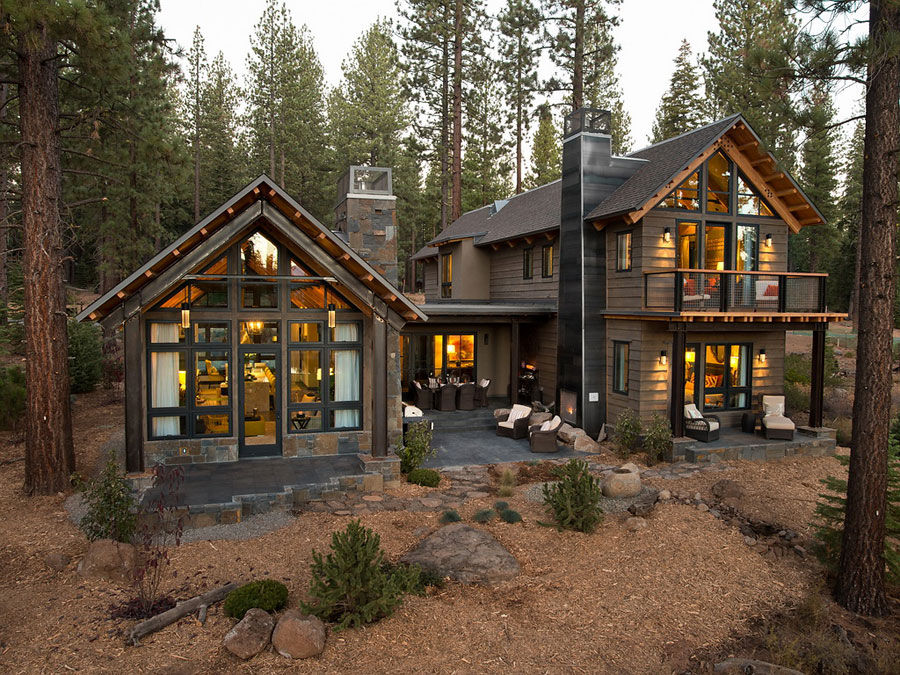 mountain home in lake tahoe