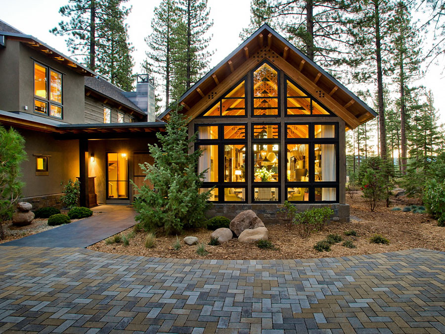Amazing Mountain Home In Lake Tahoe California on hgtv dream home 2017
