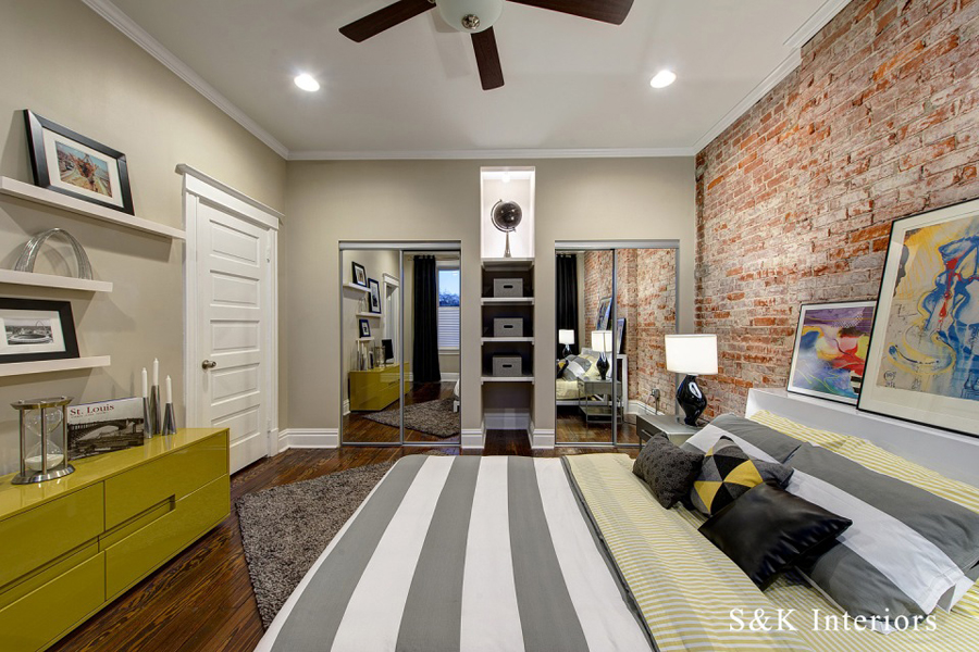 urban style bedroom design