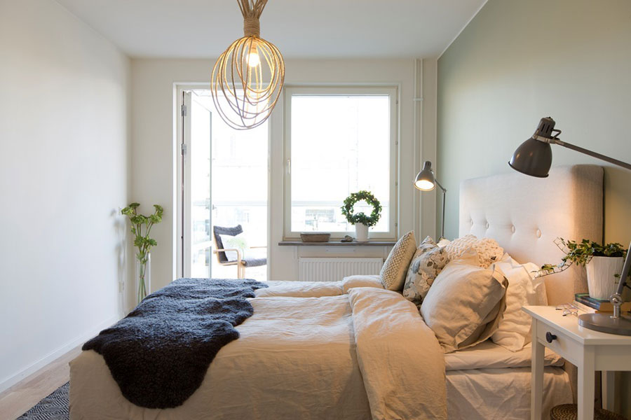 Scandinavian Style Apartment With Birch Accents 4betterhome