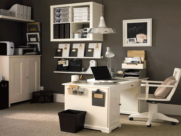 classic style home office design