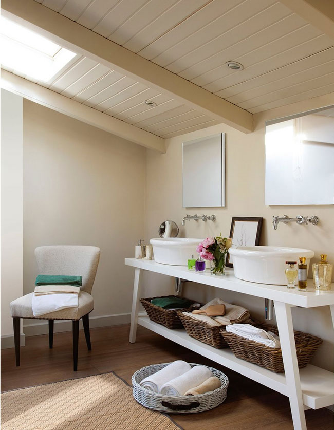 house loft bathroom design