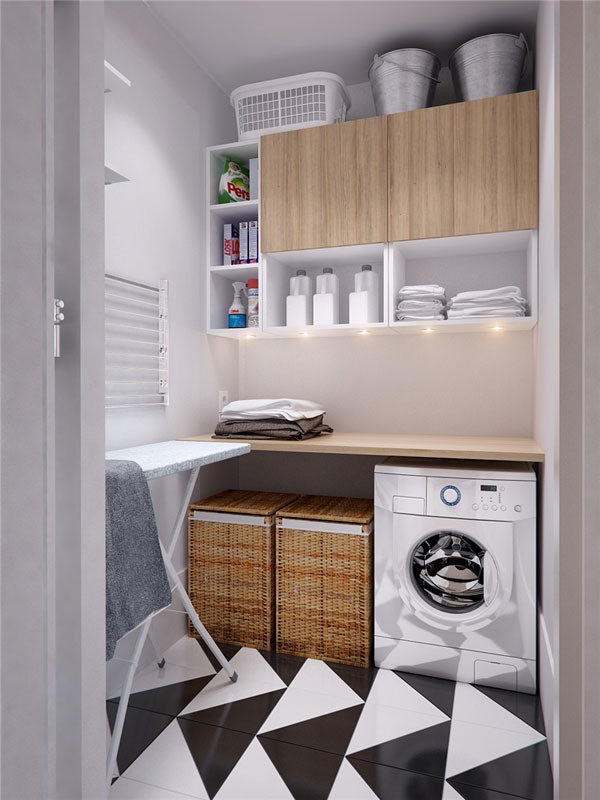 laundry room design for apartment