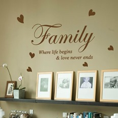 quote wall stickers design