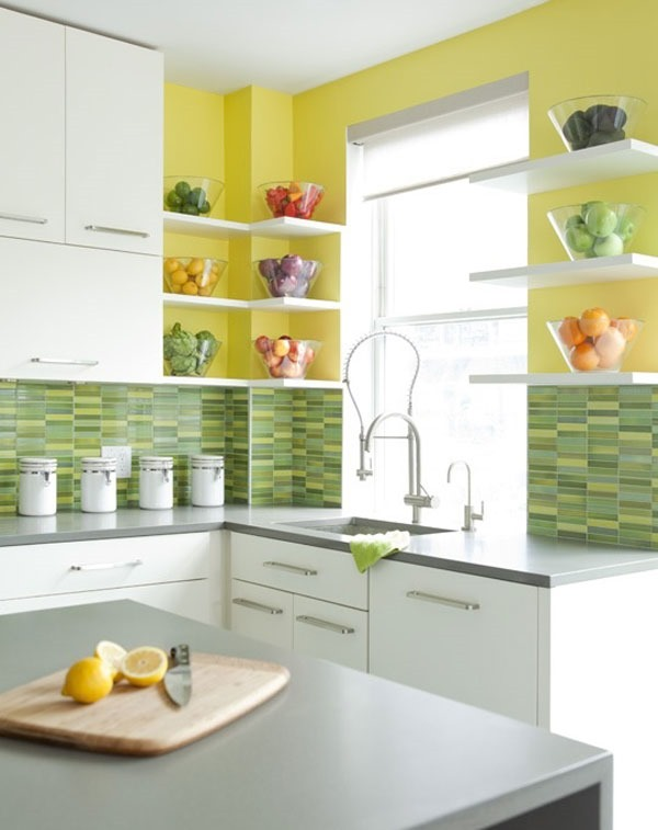 Yellow Kitchen: How To Use Sunshine Yellow Color In Interior Design