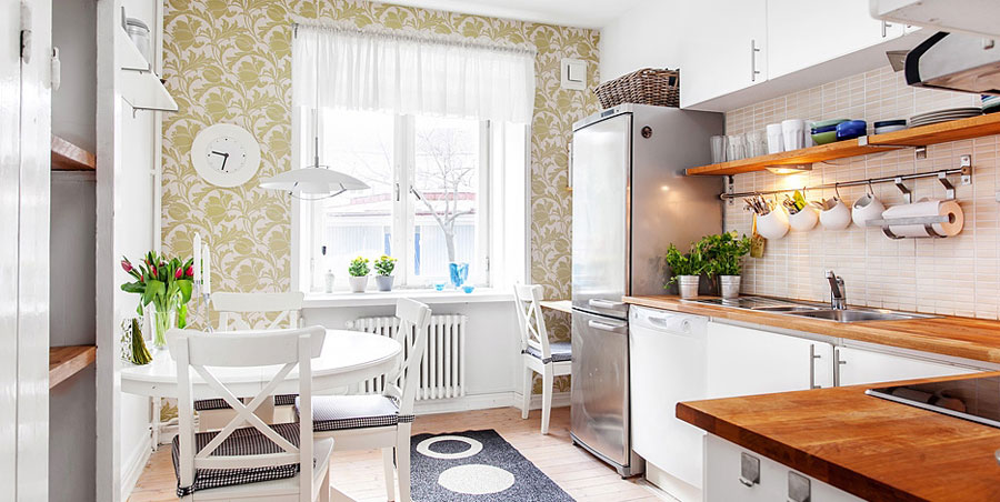swedish style kitchen design