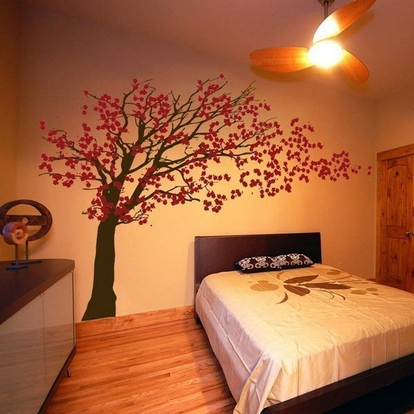 Collection Of Stylish Wall Vinyl Stickers For Home Decoration - Wall stickers for bedrooms interior design