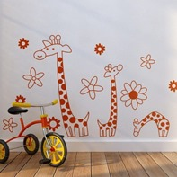 vinyl stickers kids room design