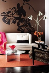 wall stickers design for living room