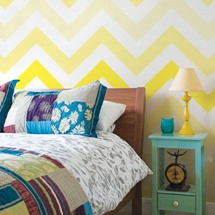 wall vinyl stickers in yellow