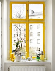 yellow color windows