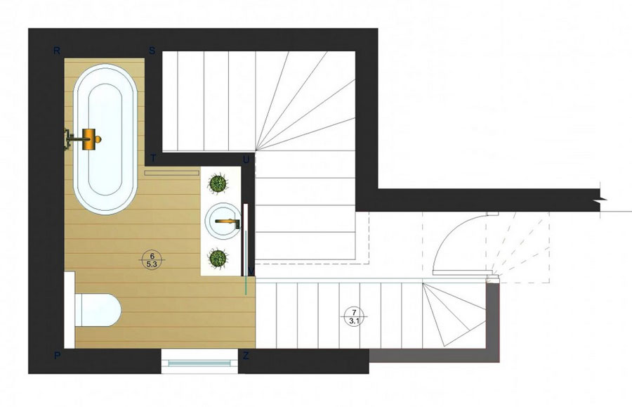 two level apartment design