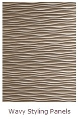 SIBU wavy styling panels