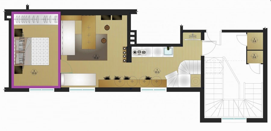 floor-plan-for-two-level-apartment-900x438