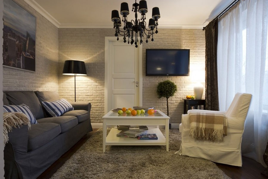 european interior design for small apartment in moscow