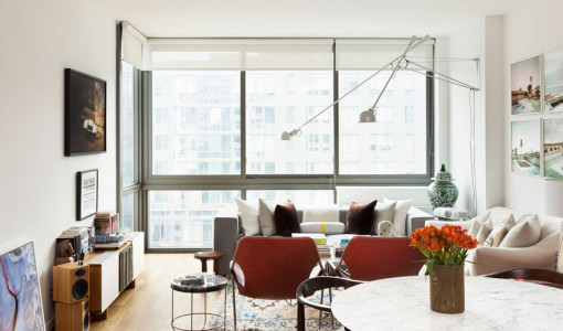 Eclectic interior archives 4betterhome for Small apartment interior design new york