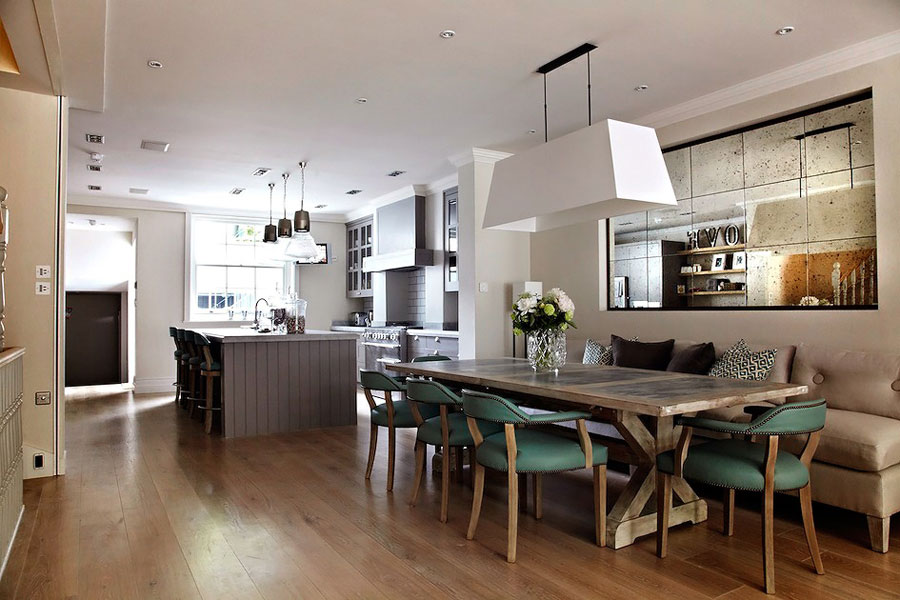 elegant english interior for london house