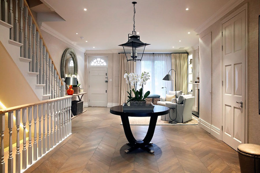 Timeless and elegant english interior design house in london - English style interior design rigor and comfort ...