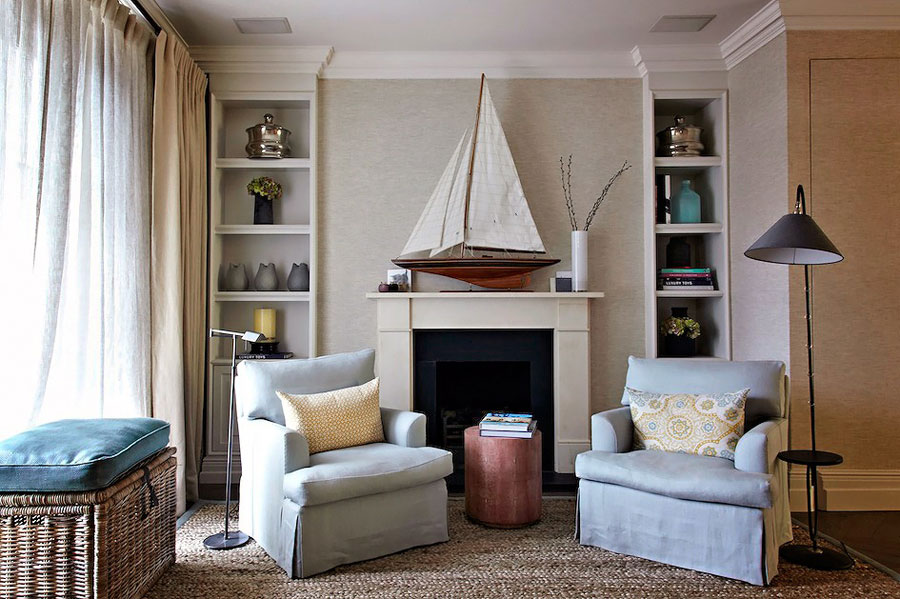 Timeless and elegant english interior design house in london