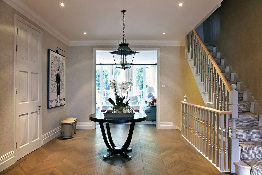 english interior for house in london