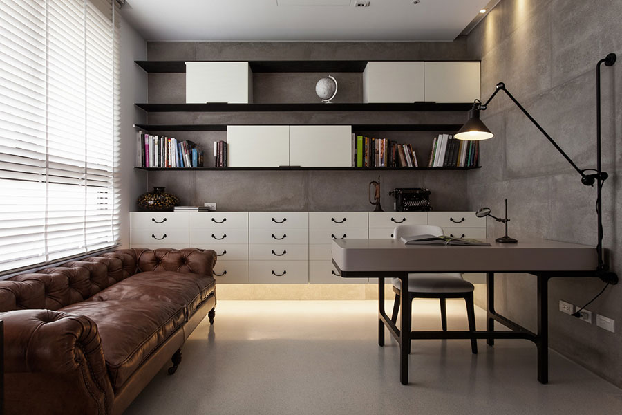 eclectic interior design for apartment