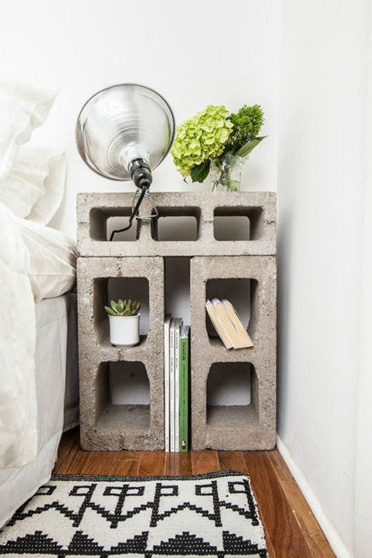 Bedside Table Ideas 45 brilliant bedside table ideas in different styles and shapes