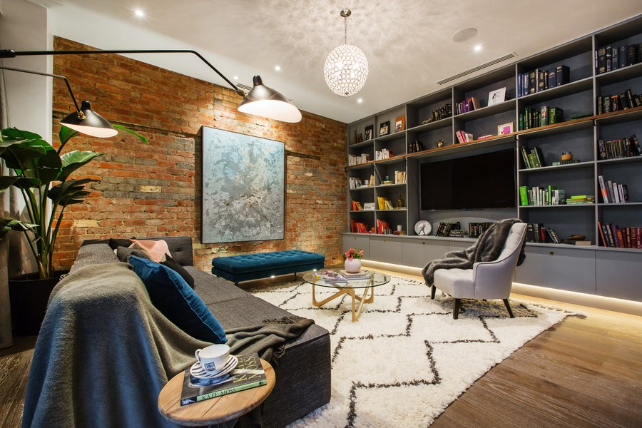 brick wall apartment in melbourne australia