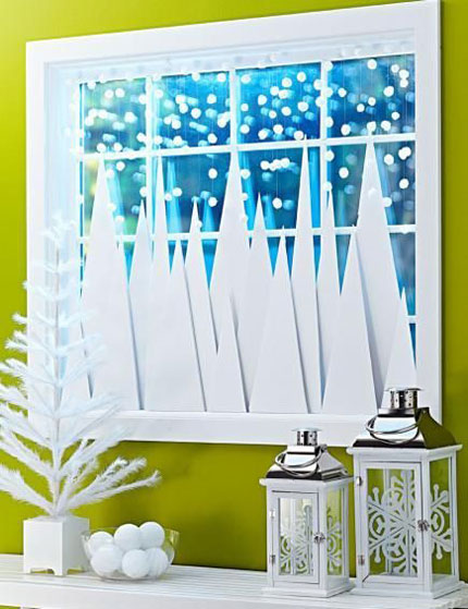 Classroom Windows Decoration Ideas ~ Traditional and modern christmas window decorations