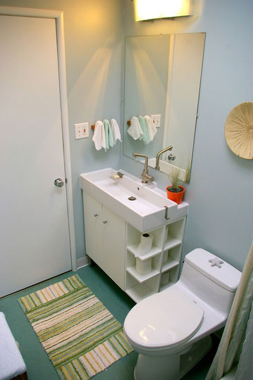 functional small bathroom storage ideas