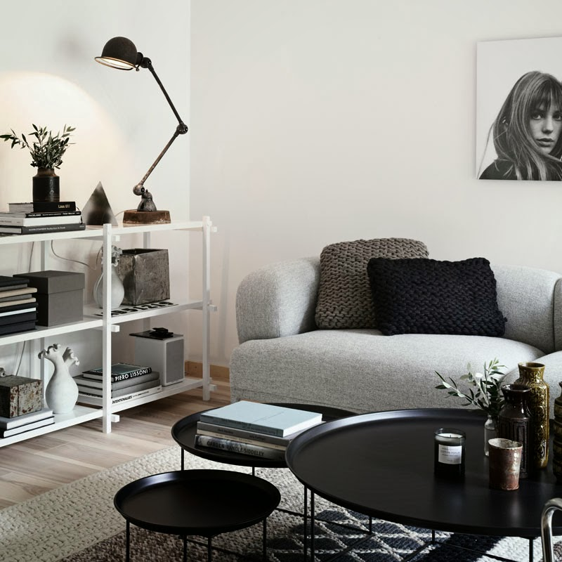 Nordic Style House Interior With Industrial Touches