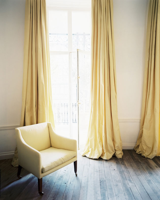 30 ideas how to beautifully hang longer length curtains