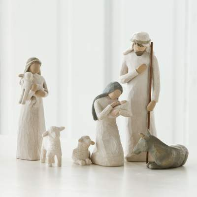 6 Figure Set Telling Christmas Story