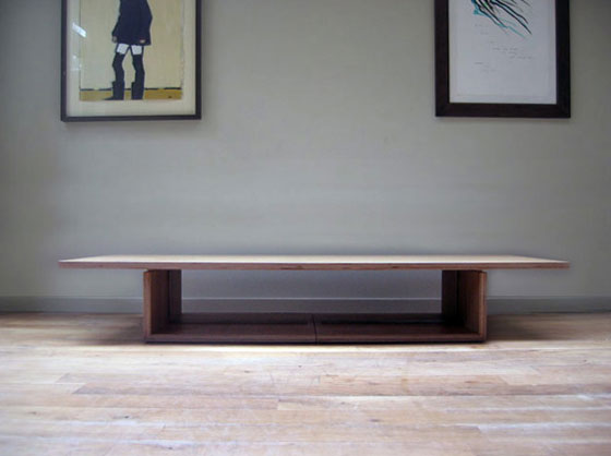 coffee table transforms into dining