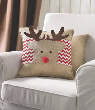 Reindeer Pillows Christmas